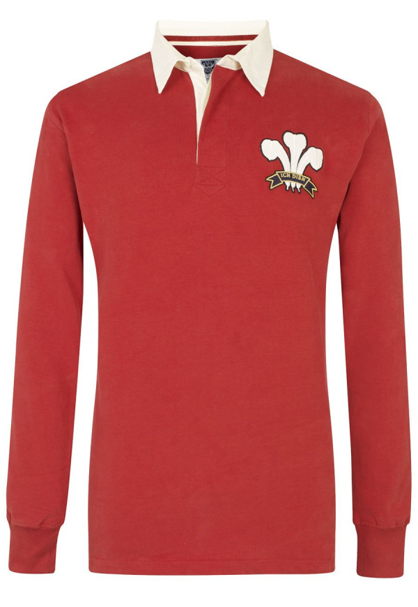 Wales Limited Edition Heritage Rugby Shirt