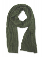 Green Knitted Scarf