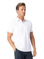 Milford White 100% Pique Cotton Polo Shirt
