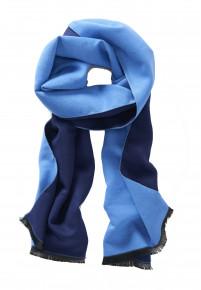 Sky and Navy Lightweight Scarf