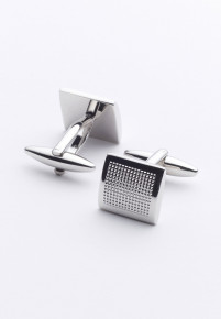 Pinhead Chrome Cufflinks