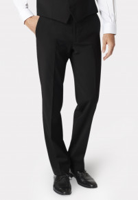 Avalino Charcoal Suit Trousers