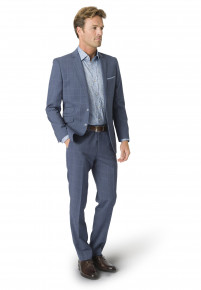 Bevan Three Piece Pure New Wool Suit - Waistcoat Optional