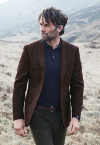 Coles Pure New Wool Check Jacket