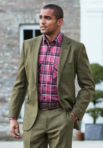 Dalton Tweed Three Piece Suit - Waistcoat Optional