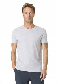 Dean Light Grey Cotton T-Shirt