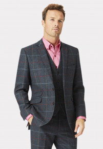 Haincliffe Tweed Three Piece Suit Jacket
