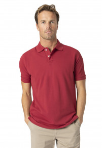 Milford Tomato 100% Pique Cotton Polo Shirt