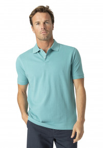 Milford Opal 100% Pique Cotton Polo Shirt