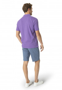Milford Heather 100% Pique Cotton Polo Shirt