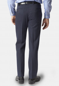 Olney Airforce Blue Flannel Trousers