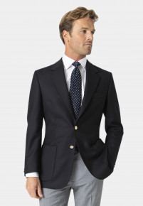 Oxford Navy Pure Wool Blazer