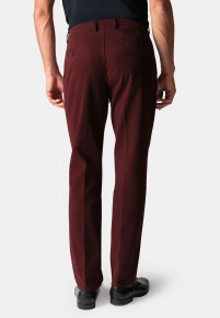 Seychelles Berry Classic and Tailored Fit Winter Weight Cotton Twill Trouser