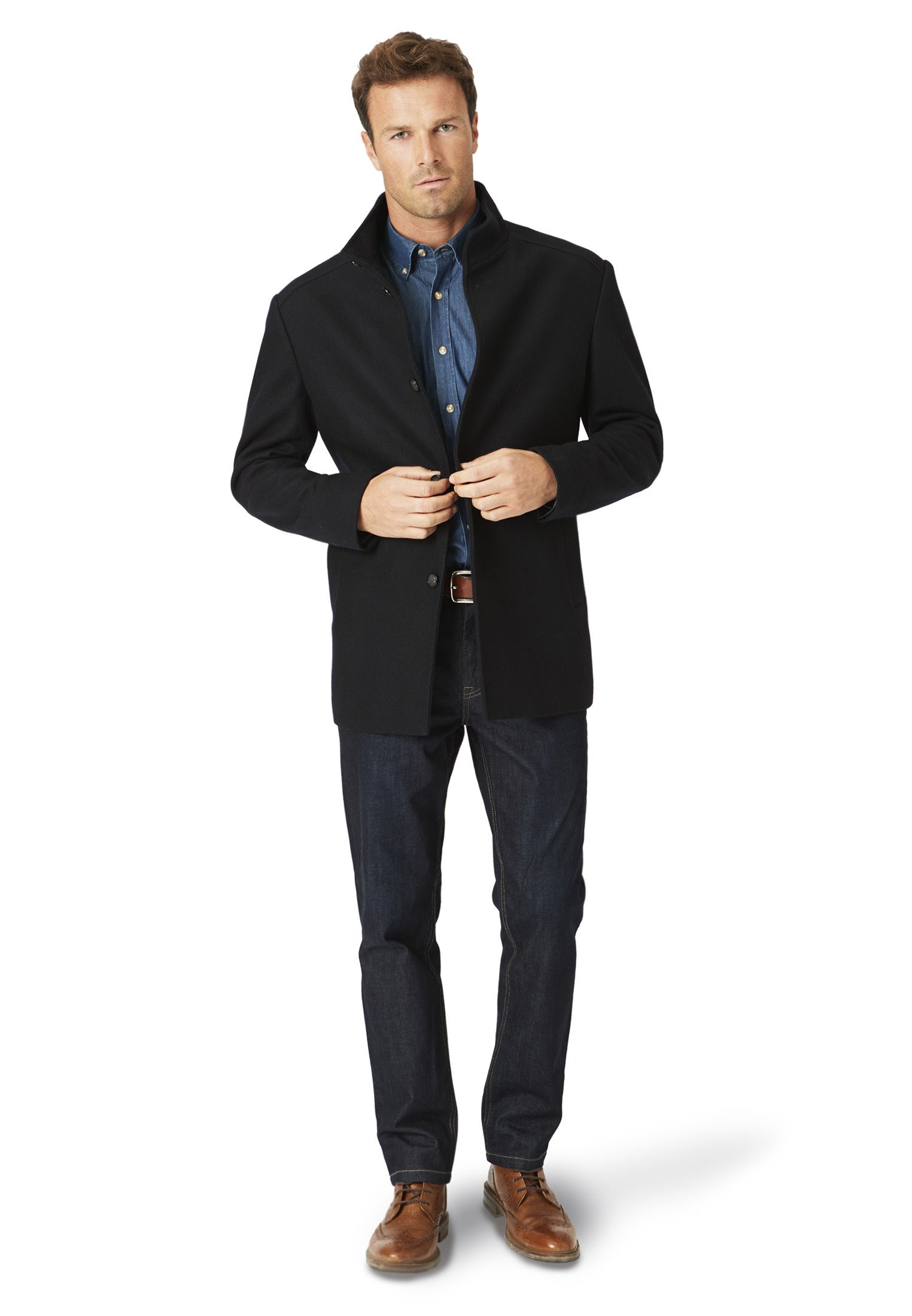 Acer Melton Casual Coat