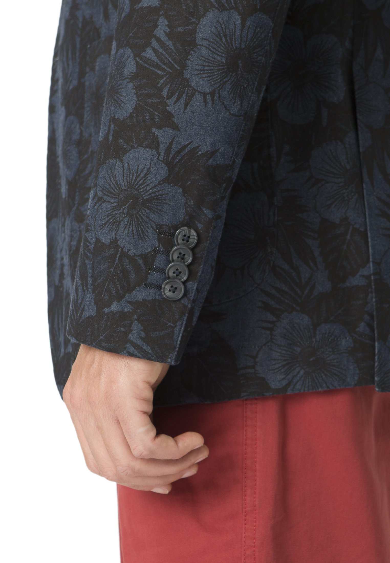 Colby Cotton Floral Print Jacket