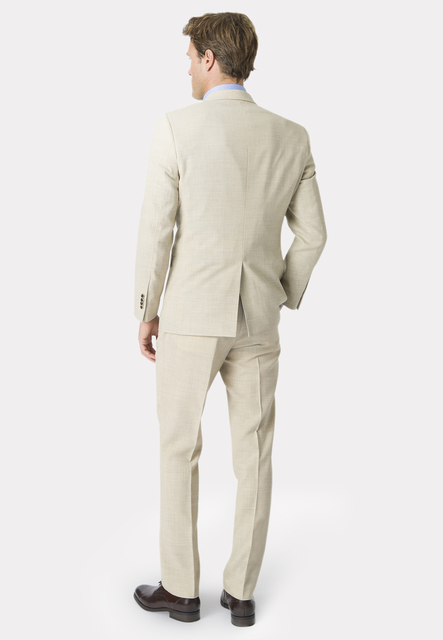 Constable Natural Tailored Fit Suit Jacket
