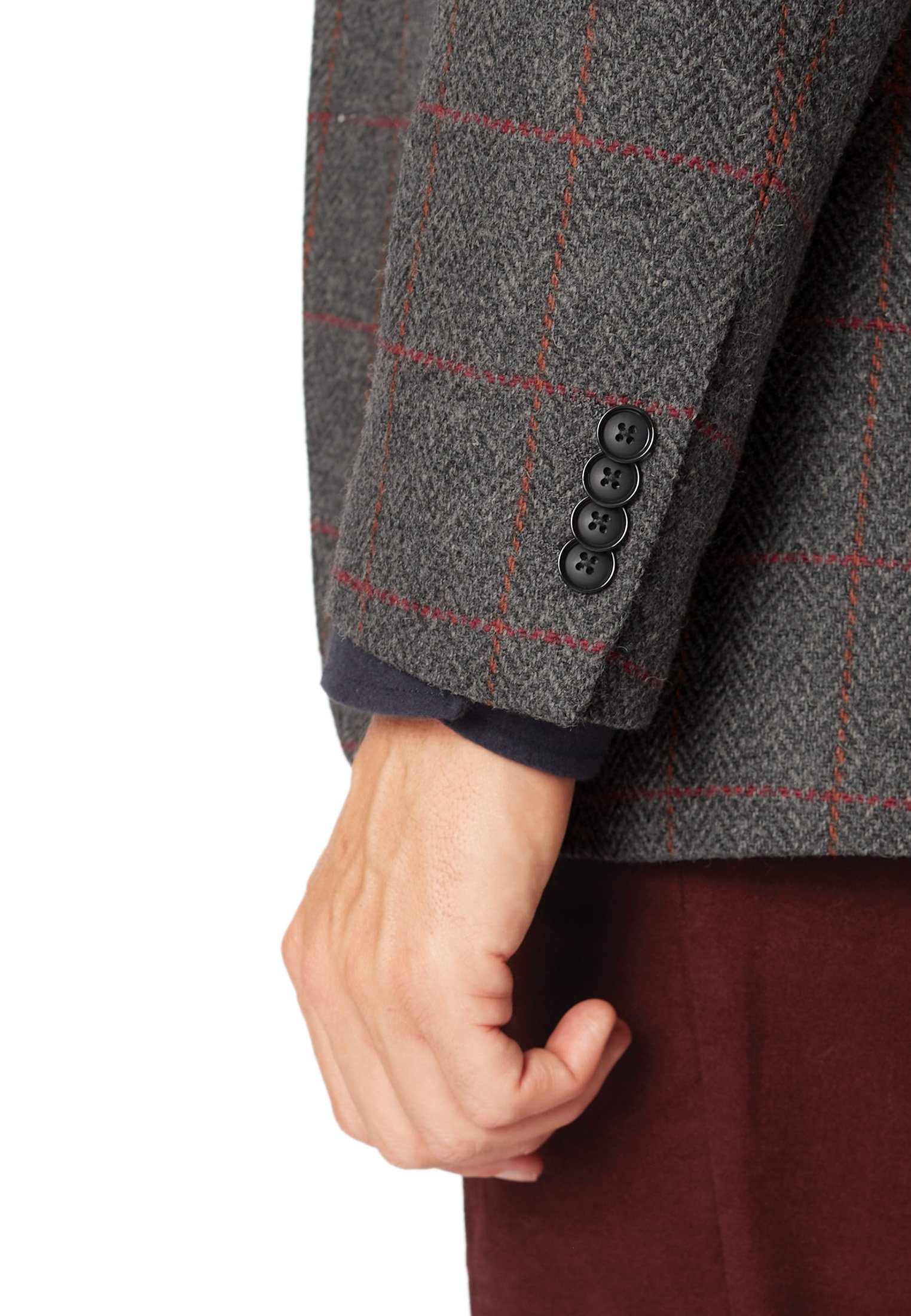 Helsinki Pure New Wool Tweed Jacket