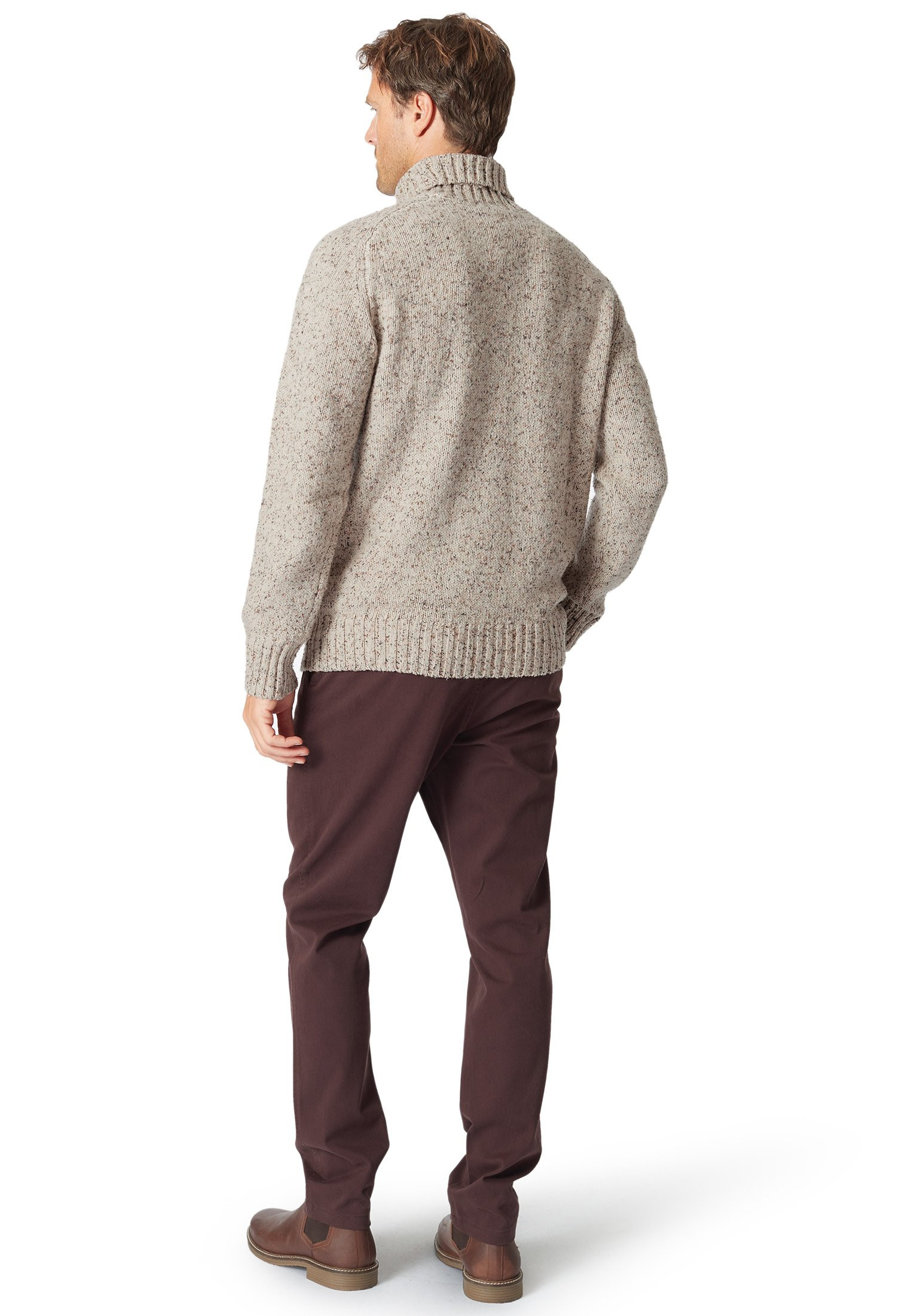 Gatley Cable Front Roll Neck
