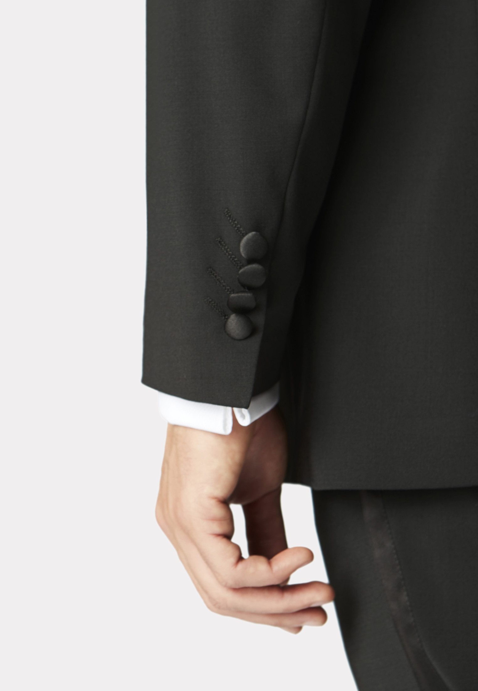 Sapphire Tailored Fit Dinner Suit Jacket
