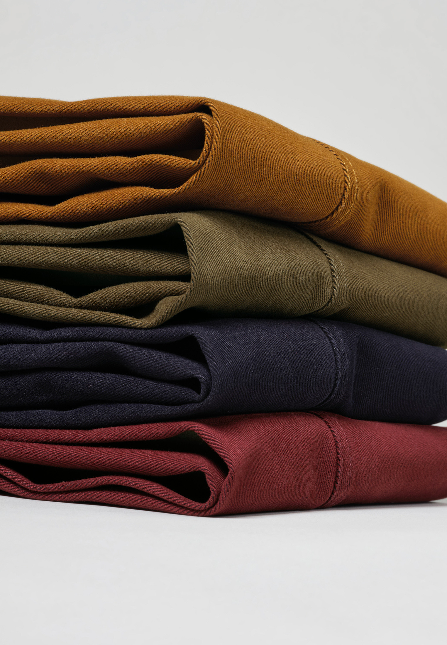 Seychelles Dijon Classic and Tailored Fit Winter Weight Cotton Twill Trouser
