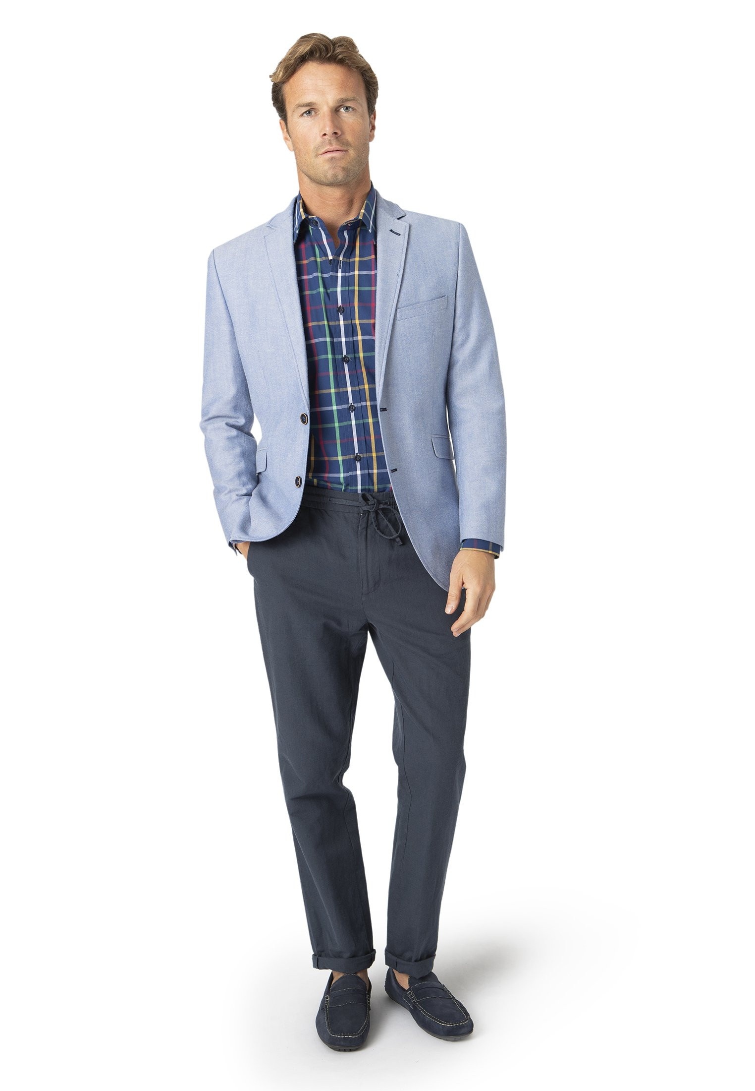 Typhoon Tailored Fit Oxford Jacket