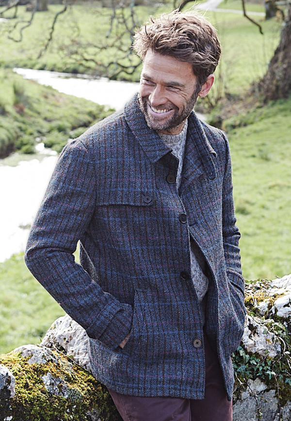 Panton Harris Tweed Short Coat
