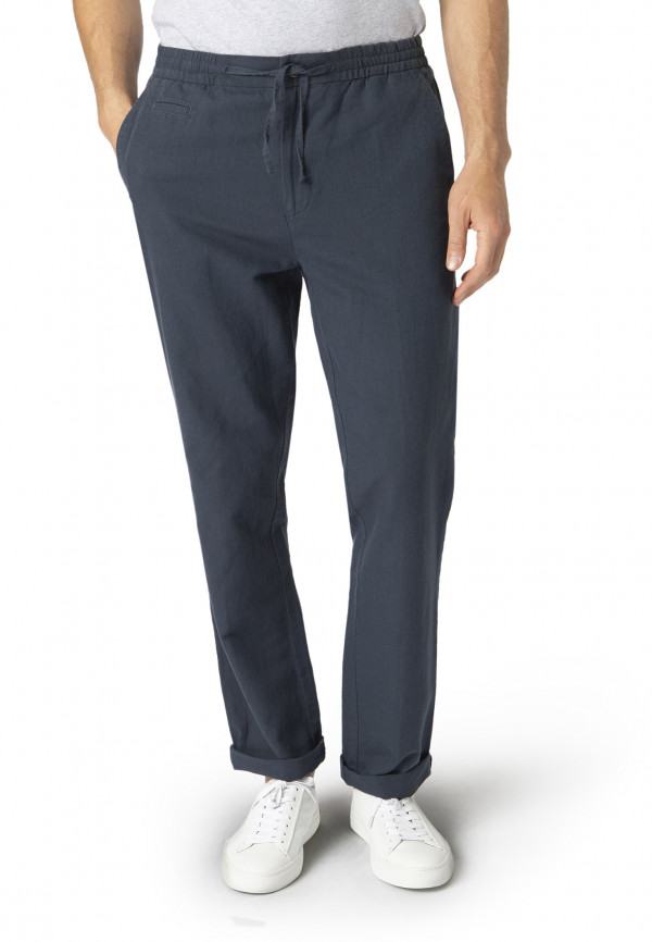 Navy Tintagel Drawcord Trouser
