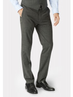 Cassino Grey Check Tailored Fit Washable Suit Trouser