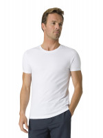 Dean White Cotton T-Shirt