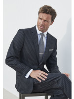 Epsom Grey Pinstripe Suit Jacket