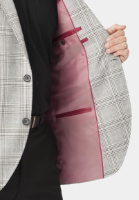Alderley Grey Check Jacket