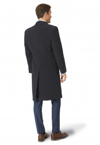 Grey Bond Wool Cashmere Overcoat