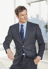 Dijon Navy Tailored Fit Three Piece Suit - Waistcoat Optional