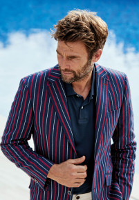 Lawrence Boating Stripe Jacket