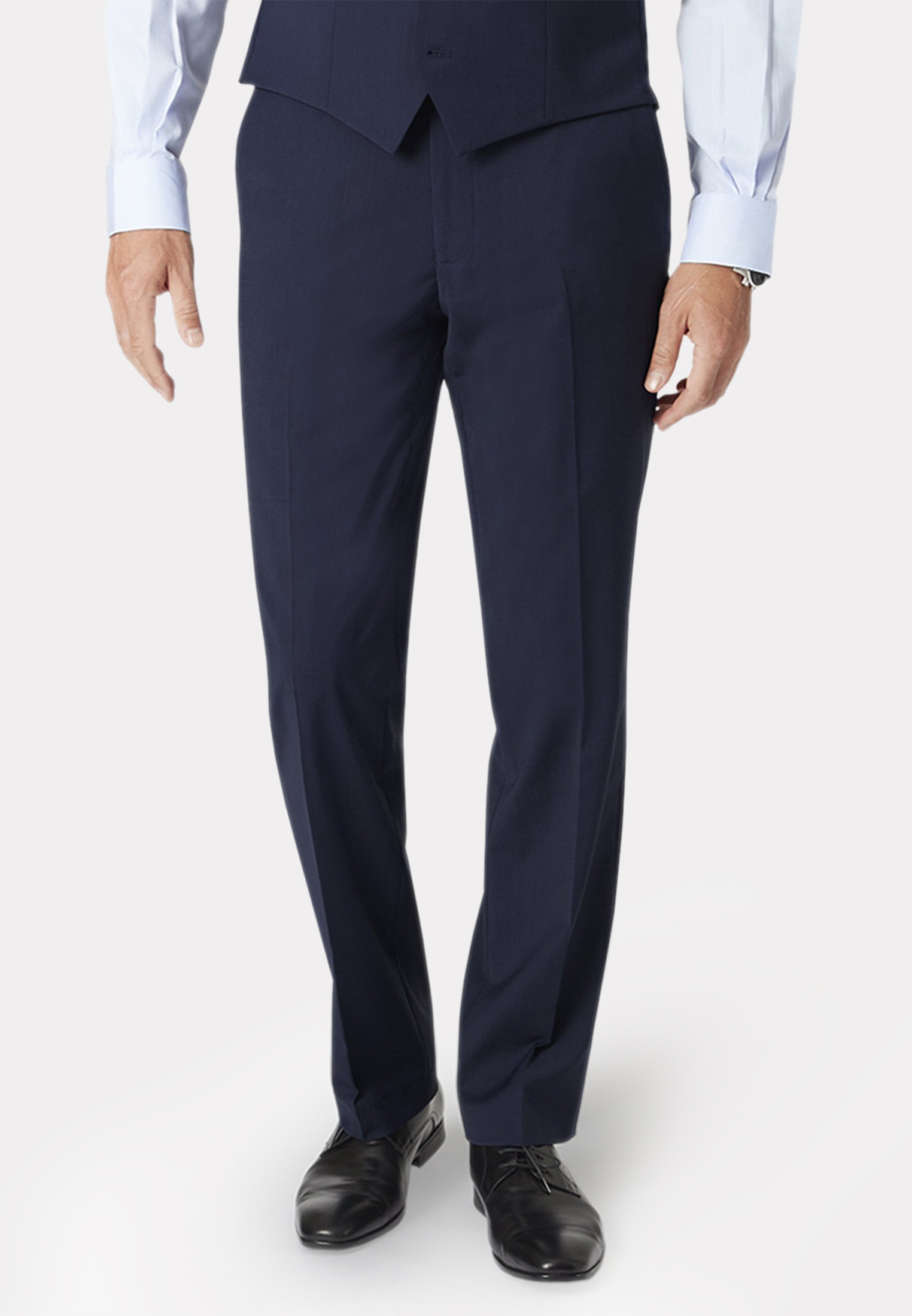Mid Blue Avalino Suit Trousers
