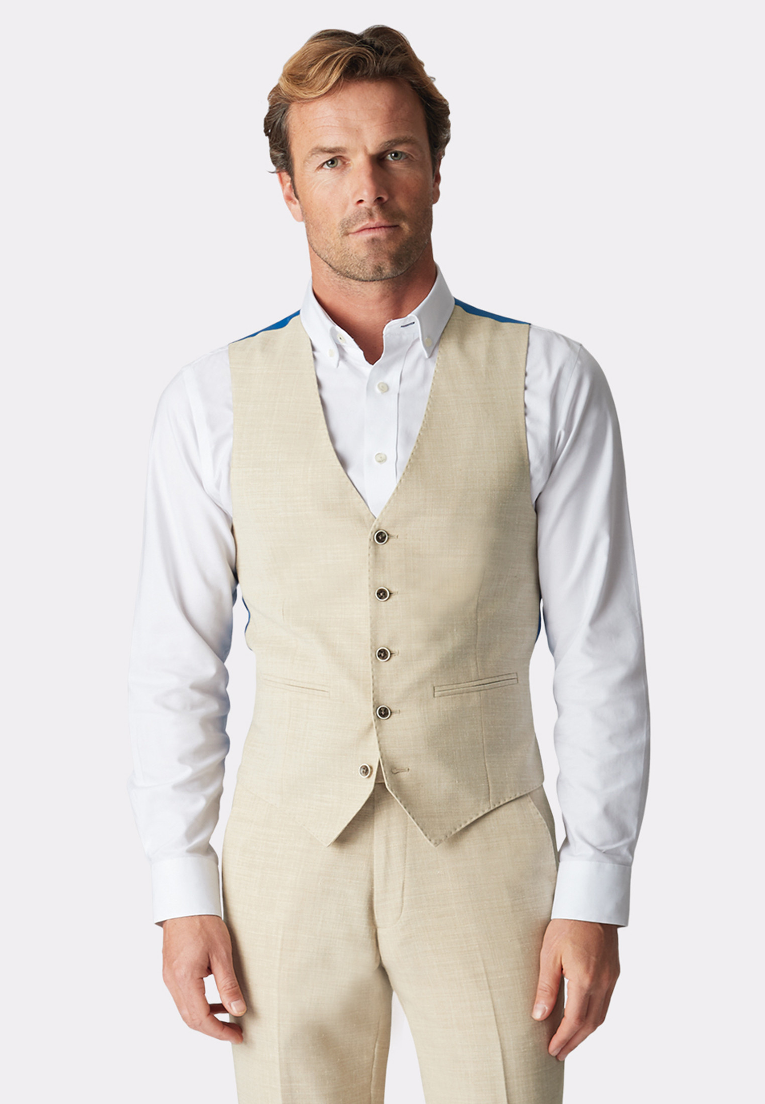 Constable Natural Tailored Fit Suit