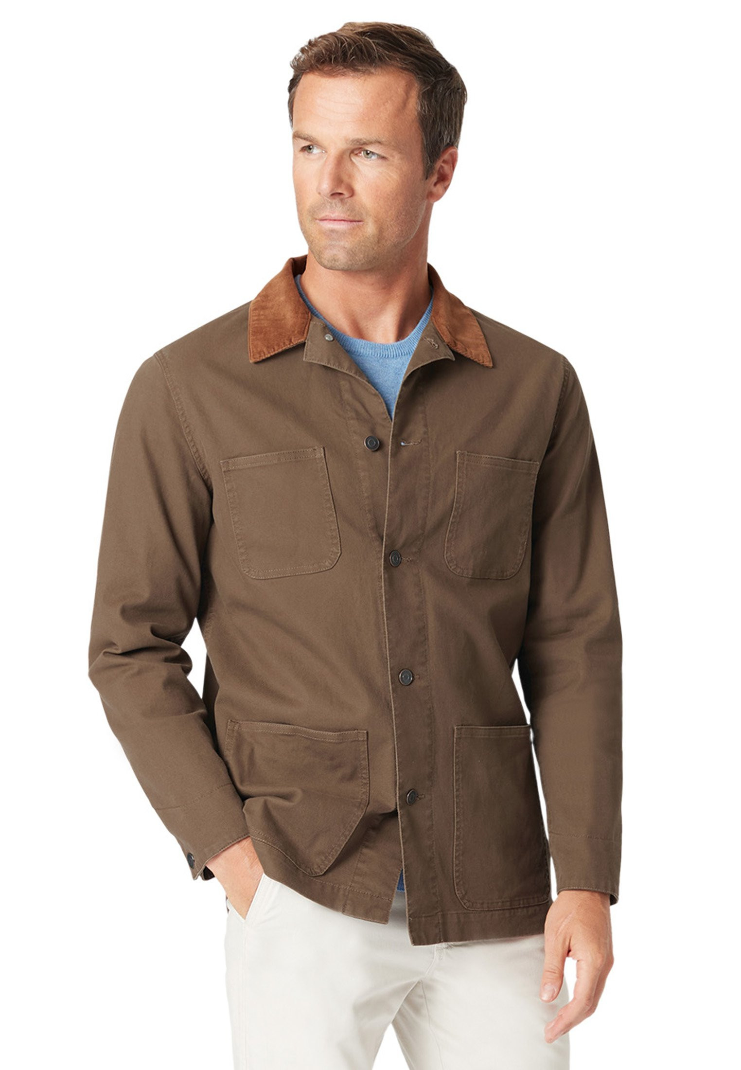 Grassington Canvas Casual Jacket