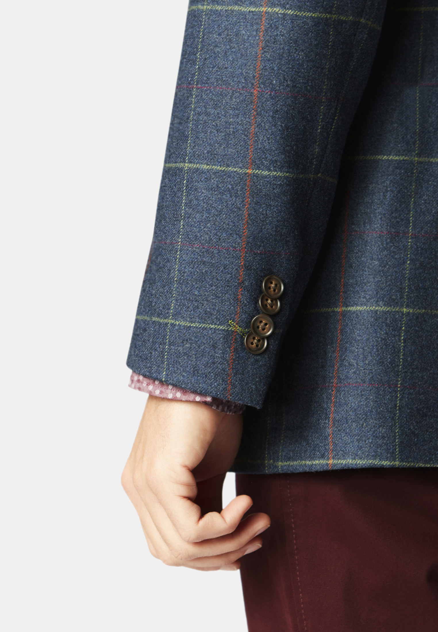 Magnum 100% Wool Check Jacket